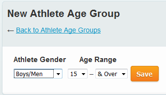 athlete age groups swimtopia help center